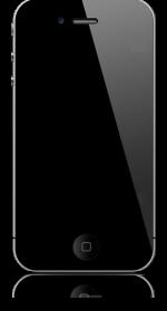 Empty iPhone